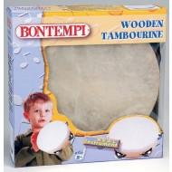 Bontempi Klasyczny Tamburyn Drewniany TMW18/N