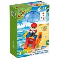 Klocki BanBao 8118 Mini Ratownik na plaży 21 el.
