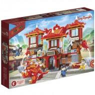 Klocki BanBao 6601 Dynastia Tang Wielka świątynia