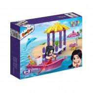 Klocki BanBao 6133 Trendy Beach Jessica i Superłódź
