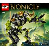 Klocki Lego Bionicle Umarlak Niszczyciel 71316