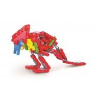 Klocki konstrukcyjne Wafle Zwierzaki Tyranozaur