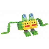 Klocki konstrukcyjne Wafle Zwierzaki Żabka