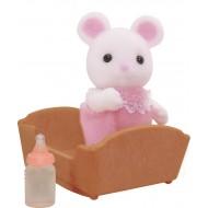 Sylvanian Families Dziecko białych myszek