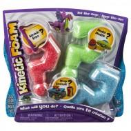 Kinetic Foam - Multi 3-pak czerwony, zielony, niebieski