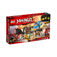Klocki Lego Ninjago Plac bitewny Airjitzu 70590