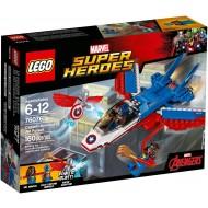 Klocki Lego SH Odrzutowiec Kapitana Ameryka 76076