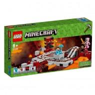 Klocki Lego Minecraft Linia kolejowa w Nethe 21130