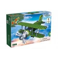Klocki BanBao 8827 Armia Samolot dwupłatowy 132 el