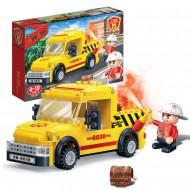 Klocki BanBao Straż Pożarna 7108 Ratownictwo drogowe