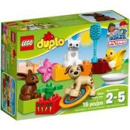 Klocki Lego Duplo Zwierzątka domowe 10838