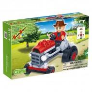 Klocki BanBao 8045 Mini Traktor 52 el.