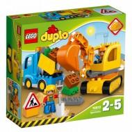 Klocki Lego Duplo Koparko-ładowarka 10811